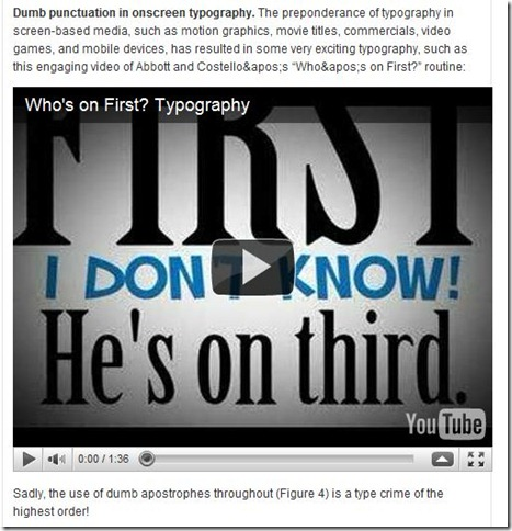 BadPunctuation
