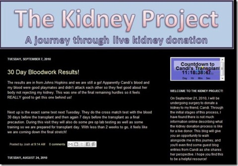 KidneyProjectClock