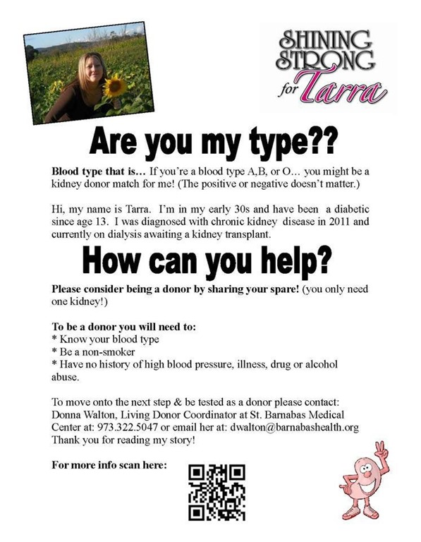 Find a kidney donor Flyers – Example Flyer