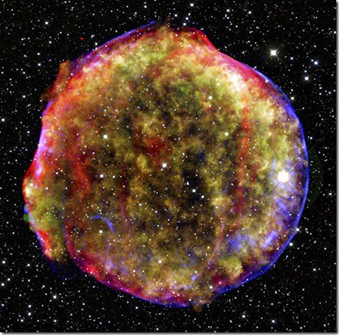 A New View of Tycho's Supernova Remnant
