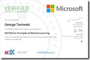 DAT203.2x Certificate