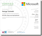 DAT236x Certificate